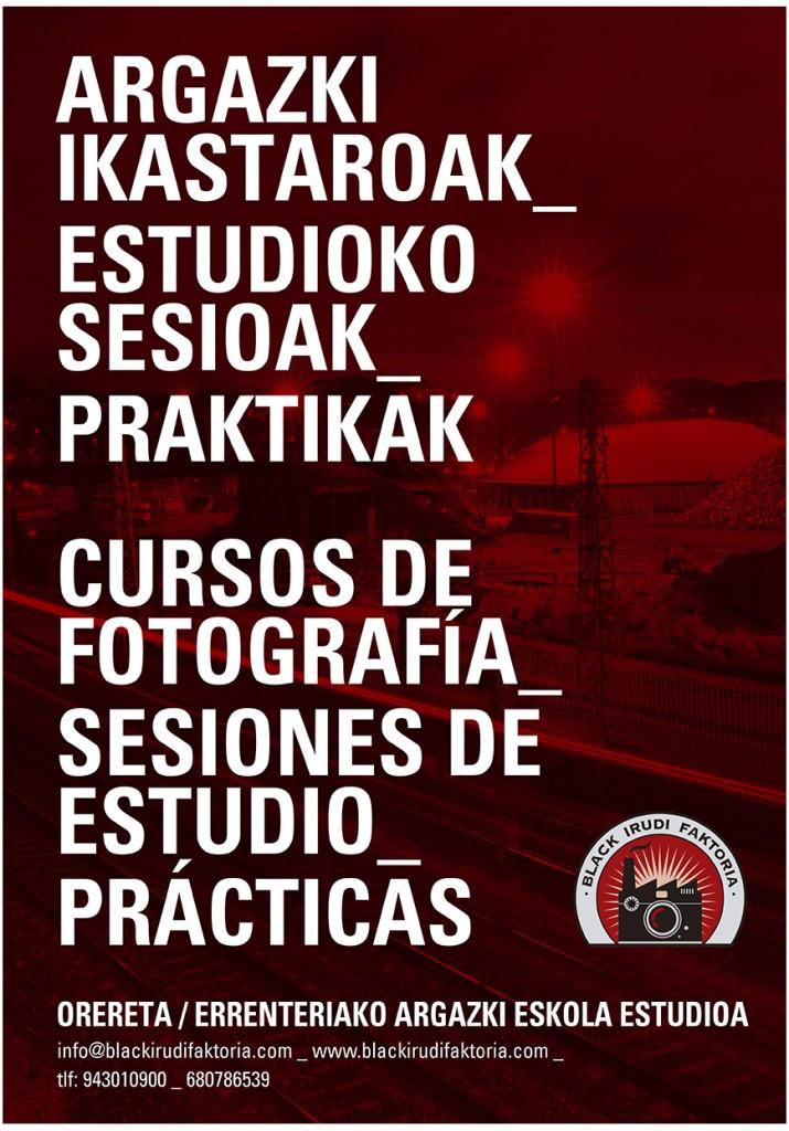 IKASTAROAK, CURSOS, FOTOGRAFÍA