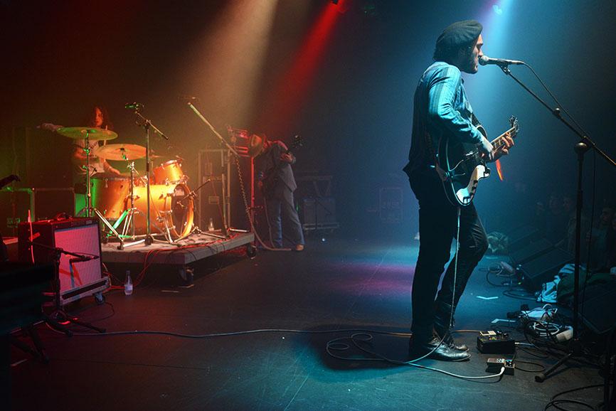 THE NIGHT BEATS (Seattle-USA) Lurrazpiko Fest-Gazteszena-Egia 2016/I/30 Photo: J.A.Areta Goñi (JUXE)